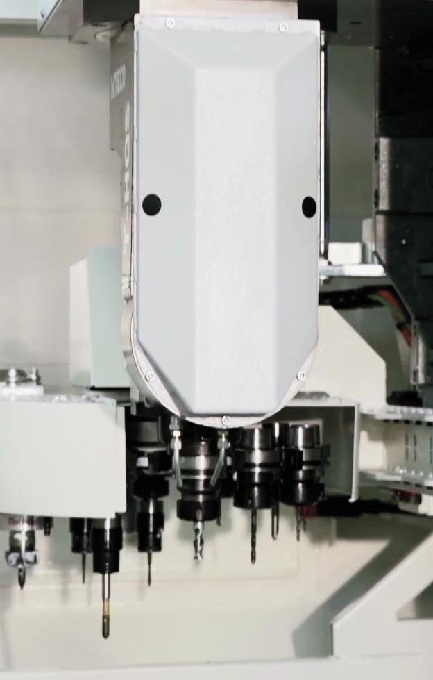"""b3 - <strong><font color=""""green"""">5- osiowe centrum CNC firmy GEMMA model BOLERO 5</font></strong>"""